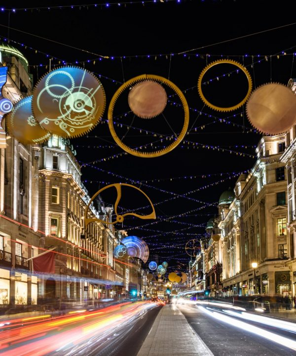Oxford Street and other Christmas lights of London
